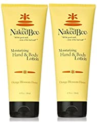 Naked Bee Orange Blossom Hand and Body Lotion,6.7oz - 2 Pack
