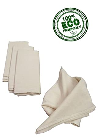 Good Natural Flour Sack Towel  28in X 29in