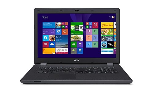 Acer Aspire 17.3 Inch Laptop with Intel Quad-Core up to 2.66GHz Processor and 8GB RAM,1TB Hard Drive,DVD-RW Optical Drive,Windows 8.1 (64-bit) (Certified Refurbished)