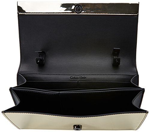 On 5x14x27 Gold Clutch b Donna Calvin Metalic Cm Da Klein T H Giorno Chain Pochette Instant X light Oro Oqw7tw4