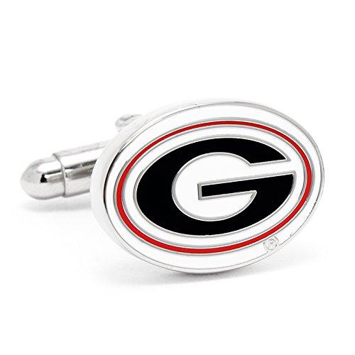 NCAA Mens University of Georgia Bulldogs Cufflinks
