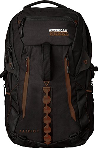 Concealed Backpack Holster for Men and Women, American Rebel X-Large Freedom Concealed Carry Backpack - Black/Brown (Best Gun For Female Carry)