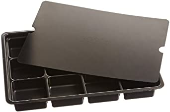 Protektive Pak PPK-27721 3 Piece 12 Cell Plastic Kitting Tray Set with Lid
