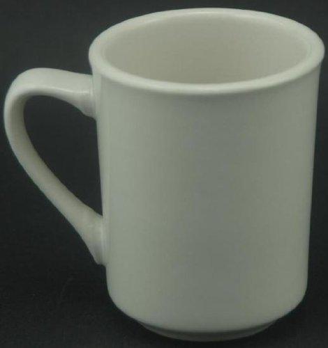 white coffee mugs set of 8 - 6