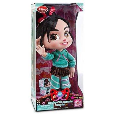 Toy / Game Cute Disney Wreck-It Ralph Vanellope Von Schweetz Talking Doll - 12'' H With Glitter Accents - Wreck It Ralph Doll