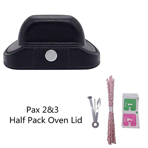 Replacement Half Pack Oven Lid Pack Oven Lid Pax 3 Accessories Parts for Pax 2 & Pax 3 by Lelance
