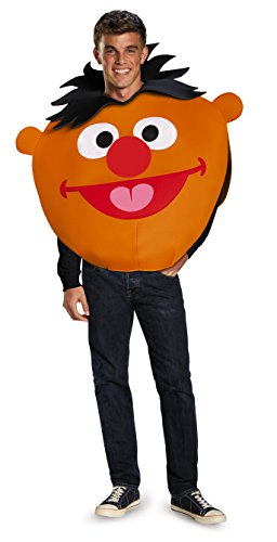 Disguise Men's Ernie Sandwich Board Costume, Orange, One (Ernie Costume)