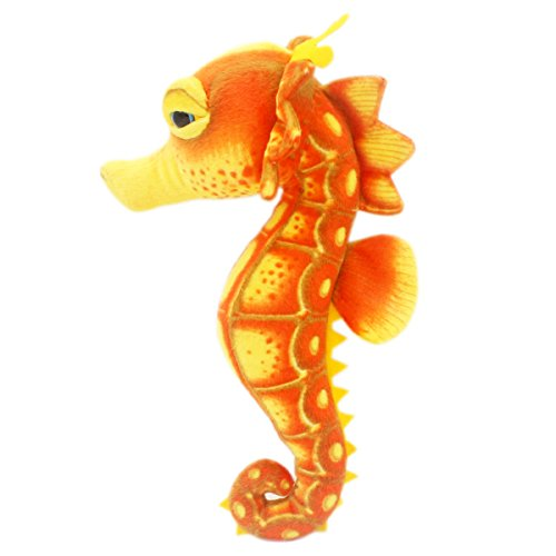 JESONN Realistic Stuffed Toy Sea Horse Plush Marine Animals for Baby and Kids' Gifts,15.35 Inches or 39CM,1PC]()