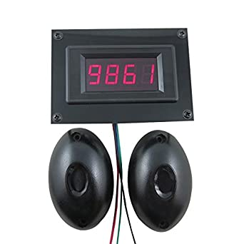 DIGITEN 12V 4 Digital Red LED People Traffic Counter+Photoelectric Infrared Detector Store: Amazon.com: Industrial & Scientific