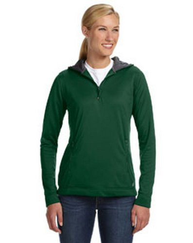 Russell Athletic FS8EFX Women's Tech Fleece Quarter-Zip