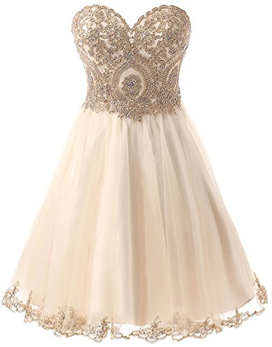 Belle House Short Summer Maid Of Honor Bridesmaid Dress Sweethart Prom Gown