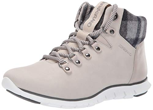 Cole Haan Women's Zerogrand Hiker Boot Hiking, Dove Waterproof Nubuck, 9 B US