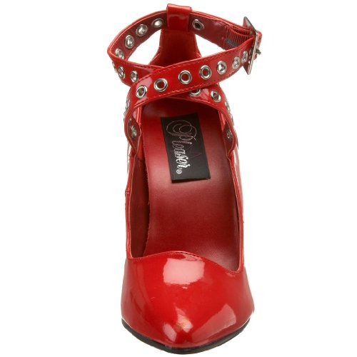 Red 443 Women's Patent Pump Pleaser Seduce ETIdwIg