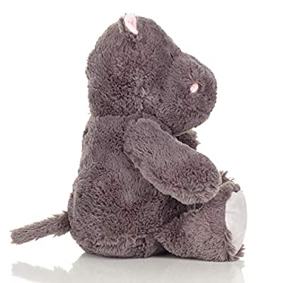Squirrel Products Cuddle Mates Stuffed Animal Plush Toy - 14 Inch - Hippopotamus: Toys & Games