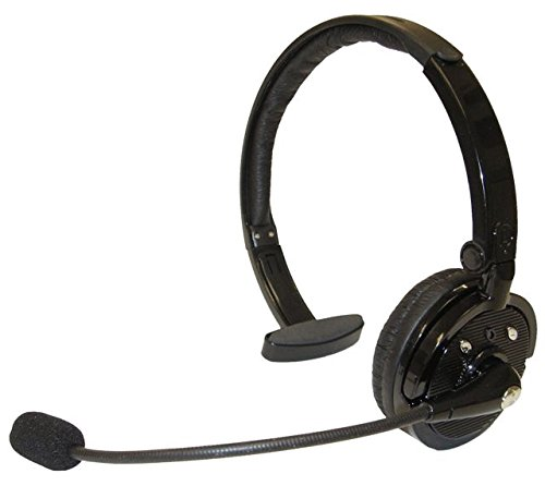 Zelher P20 Over The Head Noise canceling Bluetooth Headset for Cellphones 21 Hour Talk Time & 4X Noise Cancelling 1 Year…