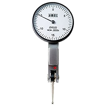 Pro Series by HHIP 4400-0010 Face Dial Test Indicator White 0-.03