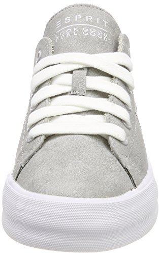 Femme Basses Lace Esprit Up EU 41 Grey Gris Simona Sneakers Light TfXqnIO