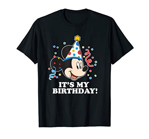 Disney Mickey Mouse It�s My Birthday T-Shirt