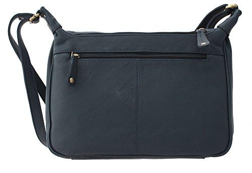 Leather Strap Single Shoulder Black Bag Wimborne PILFORD Navy Bags Collection Bolla ZxFqwgCg4