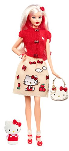 - Barbie Hello Kitty Fashion Doll
