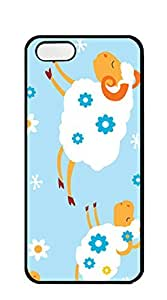 AWU DIYNBcase Flying Sheeps hard PC phone cases for iphone 5s