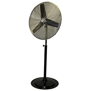 MAXXAIR HVPF 30 UPS 30-Inch Heavy-duty Three Speed Pedestal Fan