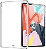 MARGOUN Clear Case for New iPad Pro 11 inch 2020 Anti-Slip Slim Transparent Soft Rubber TPU Lightweight Protective Back…