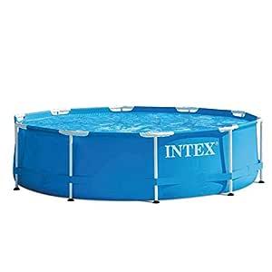 Intex Metal Frame - Piscina desmontable de 4.485 litros, 305 x 76 cm