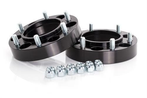Spidertrax 1.25'' Black Wheel Spacers by Spidertrax