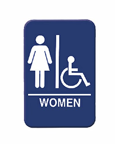 commercial bathroom signs - 2