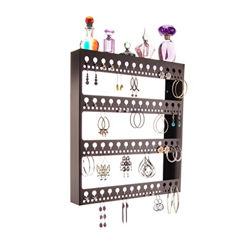 Earring Holder Organizer Wall Mounted Jewelry Organizer H...