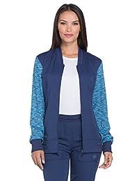 Dickies Dynamix DK340 Women's Zip Front Warm-up Jacket