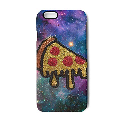 Case for Apple iphone 6 and iphone 6s planet chicago pizza city Shock-Absorption Bumper Cover Anti-Scratch Clear