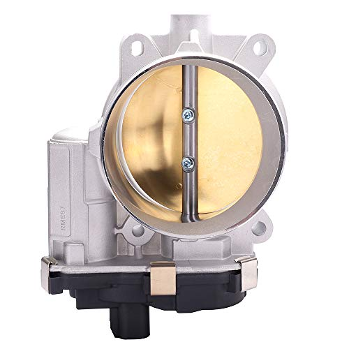 ECCPP Electric Throttle Body Air Control Assembly Fit 2009-2014 Cadillac Escalade /2012-2015 Chevrolet Camaro /2009 GMC Envoy /2009 Hummer H2 /2009 Saab 9-7x OE 12601387, 12629992