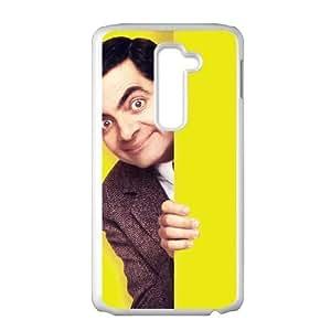 LG G2 Phone Cases White Mr Bean DRY930133