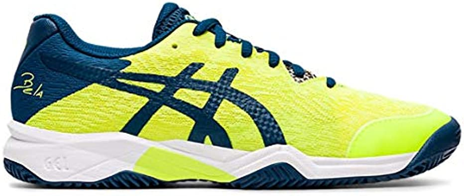 ASICS Gel-Bela 7 GS, Zapatillas Deportivas Unisex niños, Safety Yellow/MAKO Blue, 32.5 EU: Amazon.es: Zapatos y complementos