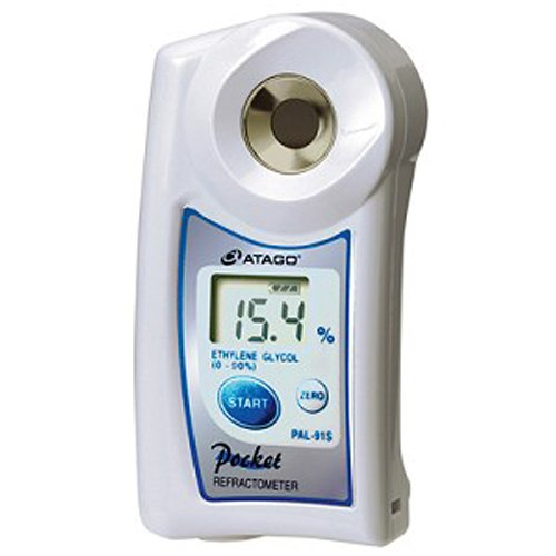 Atago 4403 PAL-03S Digital Hand-Held Pocket Salinity Refractometer, Special Scale for Sodium Chloride (g/100g) by Atago