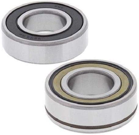 BossBearing ABS Front Wheel Bearings Kit EMQ Quality for Harley Davidson Dyna Wide Glide FXDWG 2012 2013 2014 2015 2016 2017