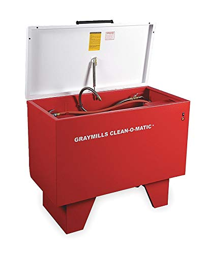 - Graymills Parts Washer, Solvent, 117 Gal, Cap 500 Lb - 900-A