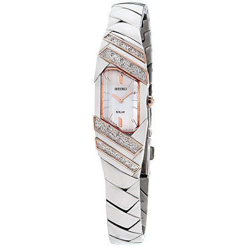 Quartz Ladies (Seiko Women's 'TRESSIA' Quartz Stainless Steel Casual Watch, Color:Silver-Toned (Model: SUP332))