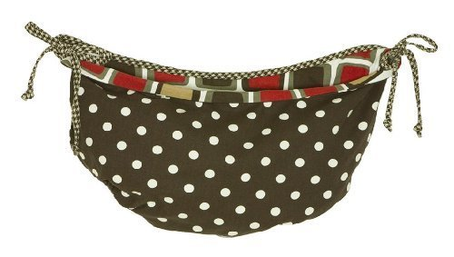 Cotton Tale Designs Houndstooth Toy Bag by Cotton Tale Designs ()