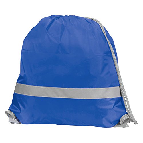 Daypack 2 L Pack High Rucksack Drawstring Reflective Blue of Yellow 5 Casual Royal 7 Visibility eBuyGB gwqUpSS