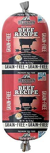(Redbarn Grainfree Rolled Dog Food Beef (3 Lbs))