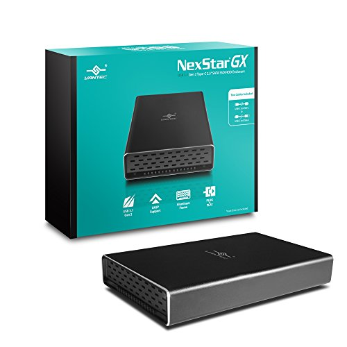 "Vantec NexStar Gx USB 3.1 Gen 2 Type-C 2.5"" SATA SSD/HDD E"