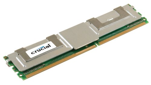 Crucial 8GB Single DDR2 667MHz (PC2-5300) CL5 Fully Buffered ECC FBDIMM 240-Pin Server Memory CT102472AF667 5300 667mhz Cl5 240 Pin