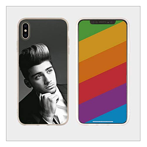 Inspired by Zayn Malik Phone Case Compatible With Iphone 7 XR 6s Plus 6 X 8 9 Cases XS Max Clear Iphones Cases TPU - Merch- Swift- Taylor- Song- Song- 33042859779