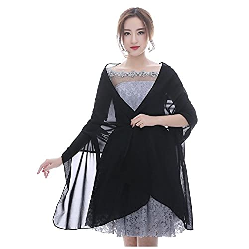 Black Shawls and Wraps for Evening Dresses: Amazon.com