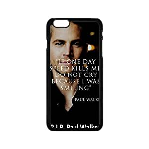 Paul Walker Fashion Comstom Plastic case cover For Iphone 6
