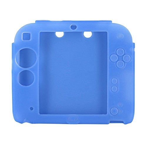 Protective Soft Silicone Rubber Gel Skin Case Cover for Nintendo 2DS (Ds Case Shell Nintendo)