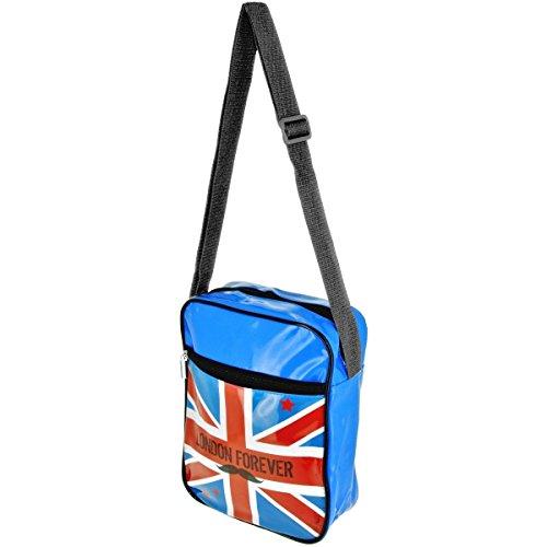 Londres, Borsa a spalla donna blu blu taglia unica